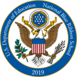 USDE Blue Ribbon Logo 2019